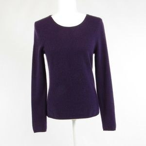 Madison Cashmere purple cashmere sweater S